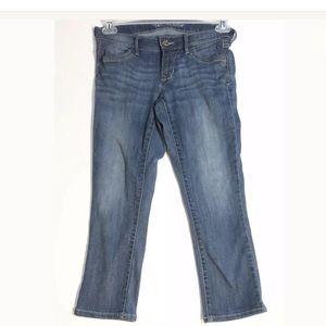 OLD NAVY The Rock Star Crop Stretch Jeans Size 6